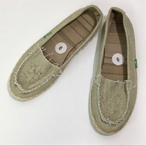 Sanuk Women's Espadrilles With Stitching Detail